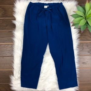[Anthropologie] Eloise Blue Stretchy Comfy Pant S